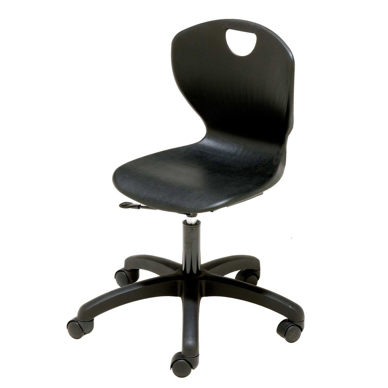 Ovation Gas Lift Task Chair-Chairs-Navy-