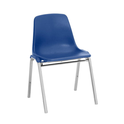 Poly Shell Stacking Chair-Chairs-Blue-