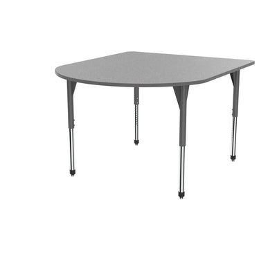"Premier Series Multimedia Tables, 60"" x 72""-Tables-Stool (32"" - 42"")-Gray Nebula/Gray-Grey"