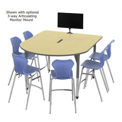"Premier Series Multimedia Tables with Power Module, 60"" x 72""-Tables-"
