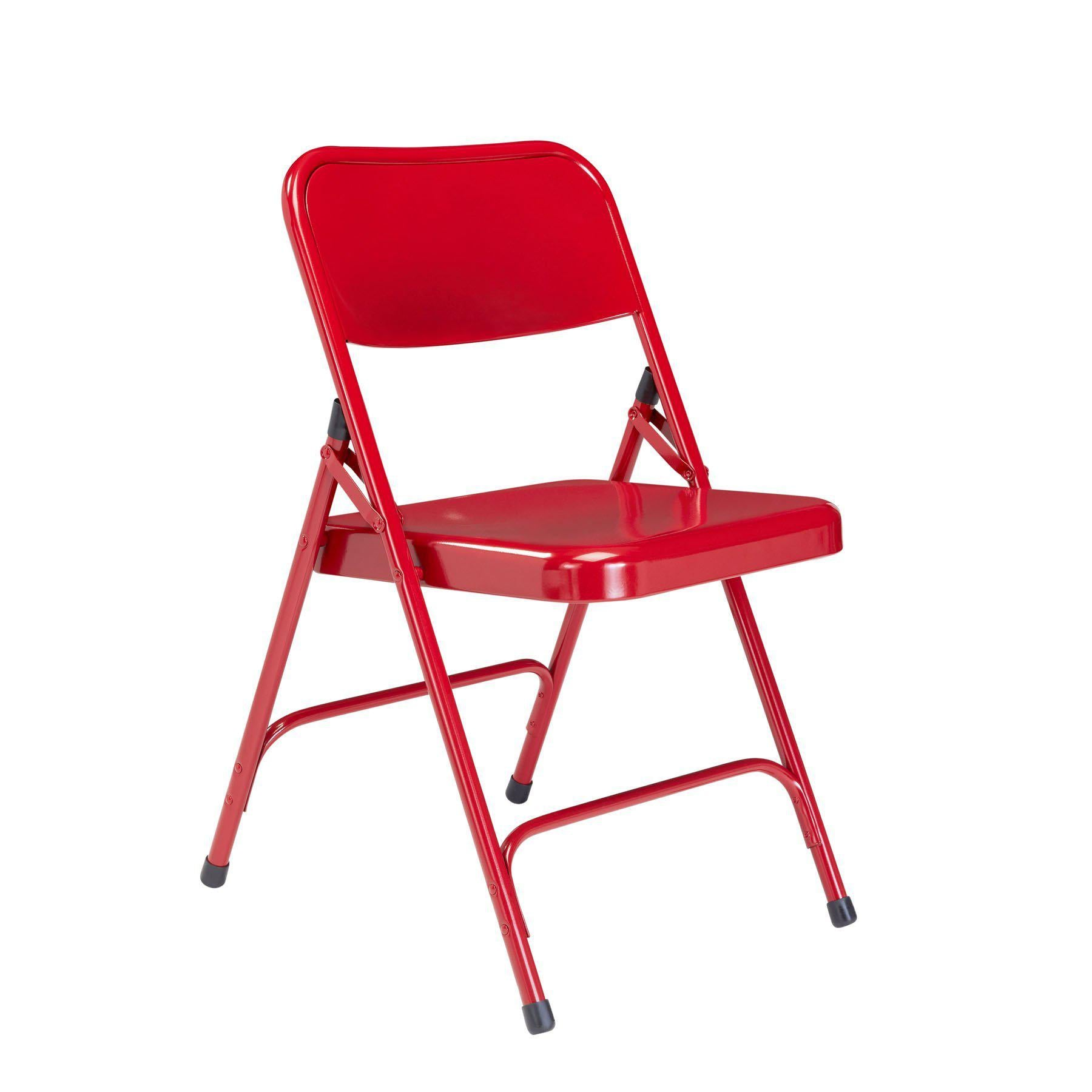 Premium All-Steel Double Hinge Folding Chair