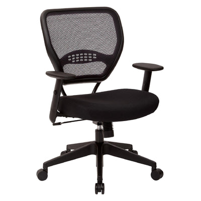 Professional Black AirGrid® Back Managers Chair-Chairs-