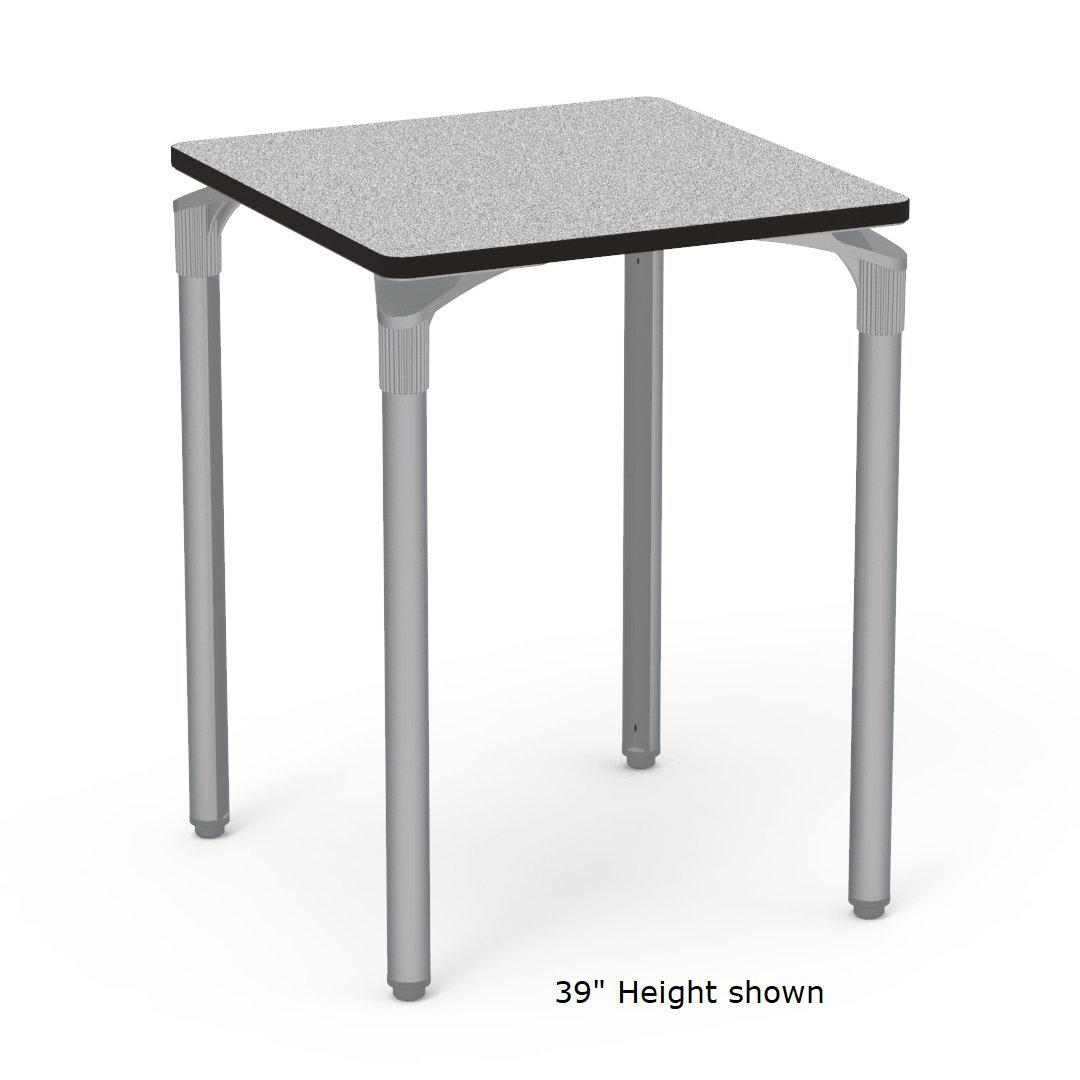 "Nextgen P-Series Library & Technology Table, 30""W x 30""L, 29"" Fixed Height"
