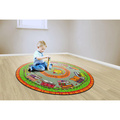 Reading is the Engine Rugs-Classroom Rugs & Carpets-