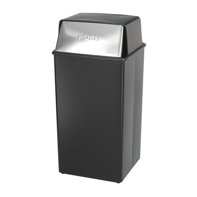 Reflections Push Top Receptacle, 36-Gallon-