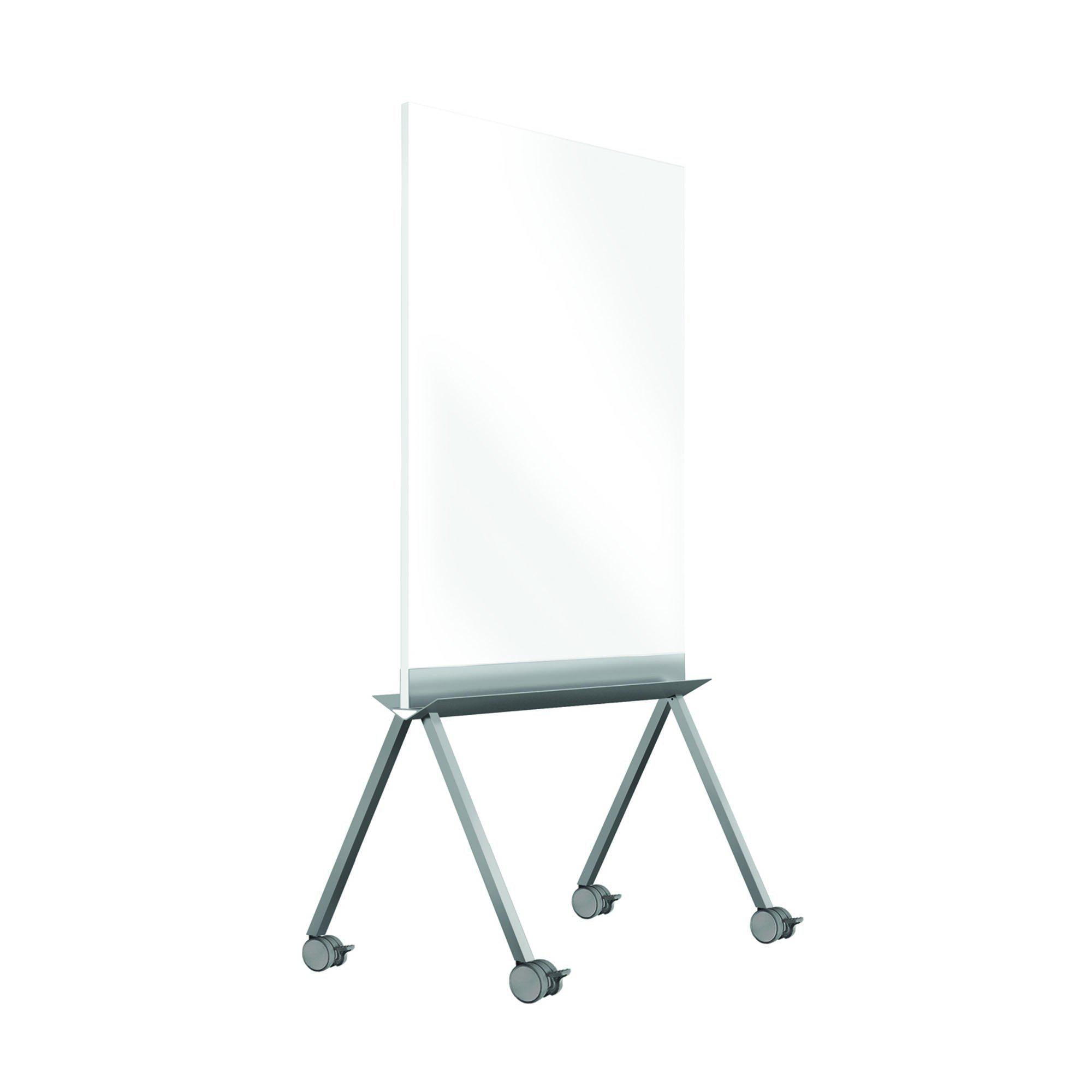 "Roam Rolling Whiteboard, 45""H x 36""W-Boards-"