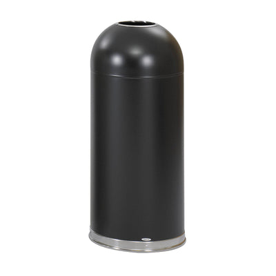 Open Top Dome Receptacle, 15 Gallon