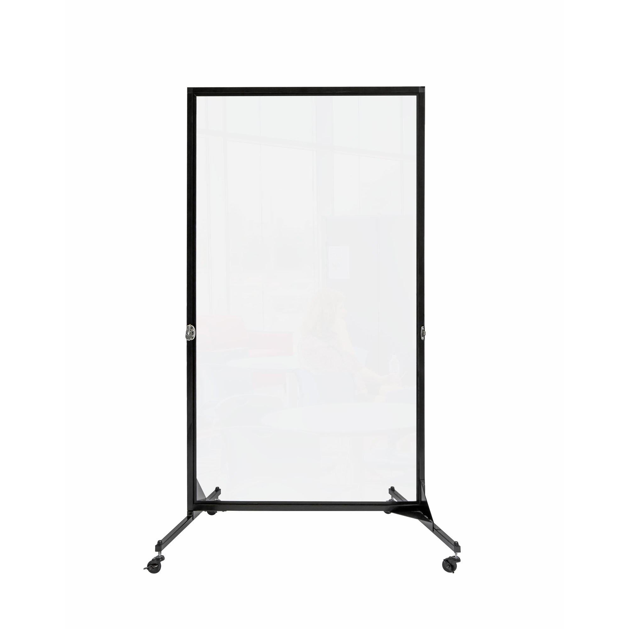 "Screenflex Clear Room Divider-Partitions & Display Panels-1 (3' 4"" L)-"