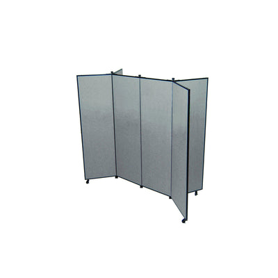 "Screenflex Display Tower-Partitions & Display Panels-6' 5""-6-"