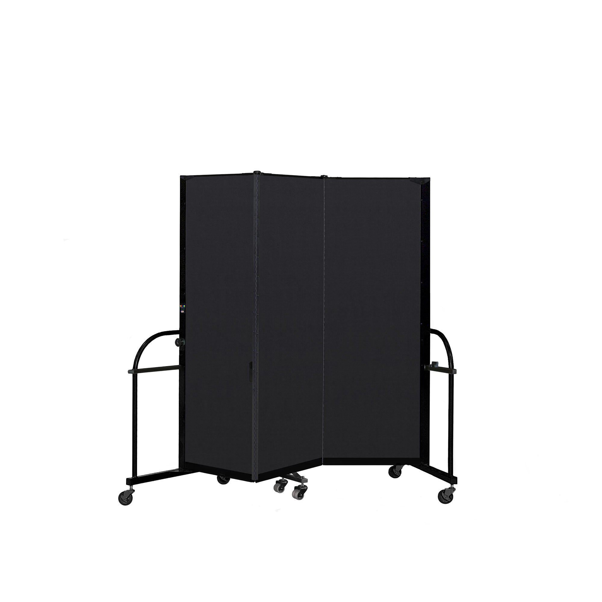 Screenflex Heavy Duty Room Divider, 6' High-Partitions & Display Panels-