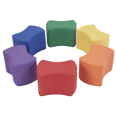 SoftScape™ Butterfly Seating, 6-Piece Set-Soft Seating-Assorted-