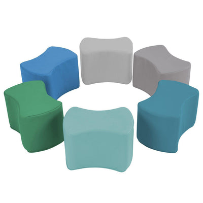 SoftScape™ Butterfly Seating, 6-Piece Set-Soft Seating-Contemporary-