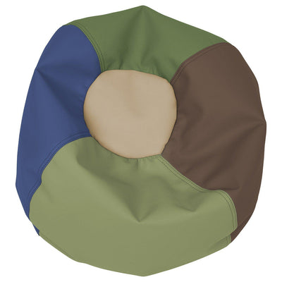 SoftScape™ Classic 22-Inch Toddler Bean Bag-Soft Seating-Earthtone-