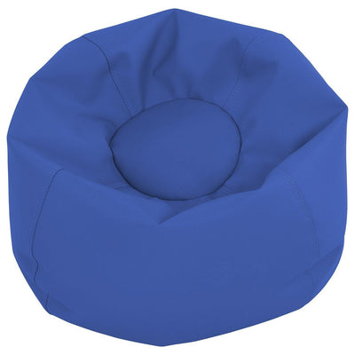 SoftScape™ Classic 26-Inch Junior Bean Bag-Soft Seating-Blue-
