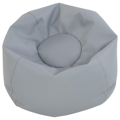 SoftScape™ Classic 26-Inch Junior Bean Bag-Soft Seating-Gray-