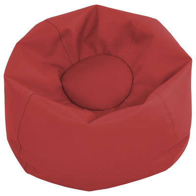 SoftScape™ Classic 26-Inch Junior Bean Bag-Soft Seating-Red-