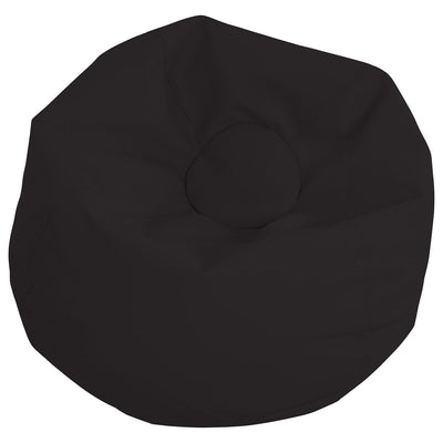 SoftScape™ Classic 35-Inch Standard Bean Bag-Soft Seating-Black-