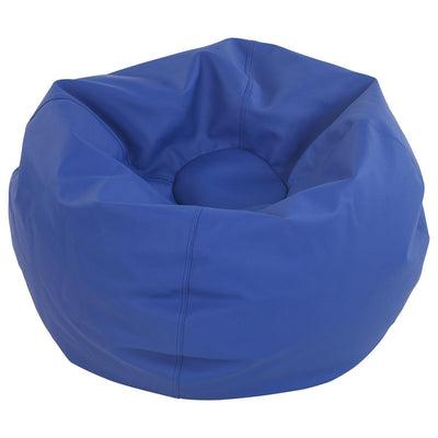 SoftScape™ Classic 35-Inch Standard Bean Bag-Soft Seating-Blue-