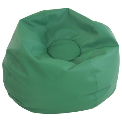 SoftScape™ Classic 35-Inch Standard Bean Bag-Soft Seating-Green-