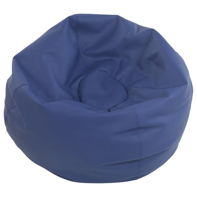 SoftScape™ Classic 35-Inch Standard Bean Bag-Soft Seating-Navy-