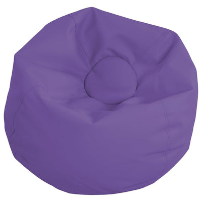 SoftScape™ Classic 35-Inch Standard Bean Bag-Soft Seating-Purple-