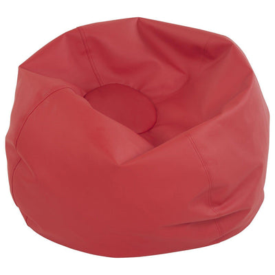 SoftScape™ Classic 35-Inch Standard Bean Bag-Soft Seating-Red-