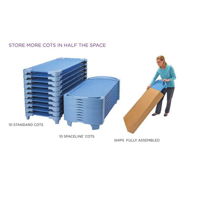 SpaceLine® Standard Cots 4 Pack