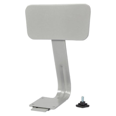 Steel Backrest For NPS Heavy-Duty Steel Stools-Stools-Grey-