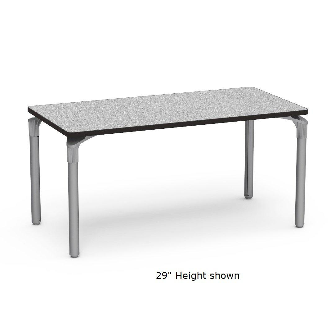 "Nextgen P-Series Library & Technology Table, 30""W x 60""L, 39"" Fixed Height"