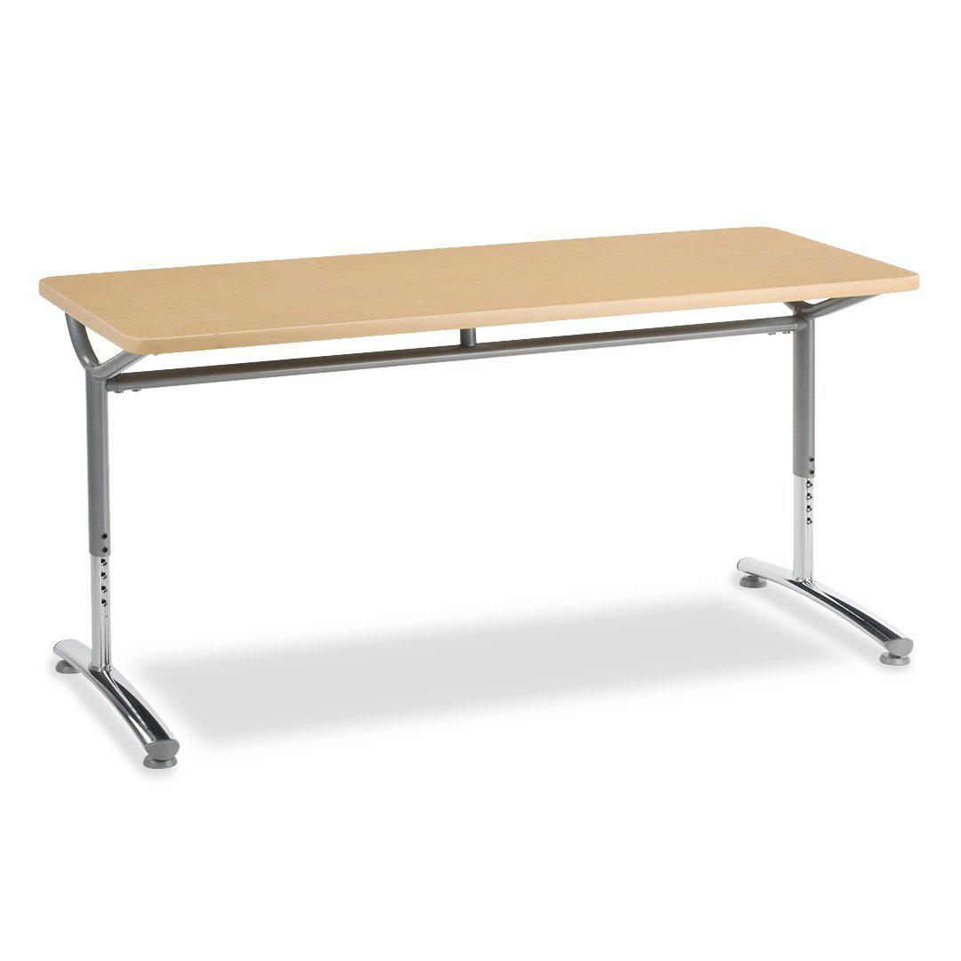 Text Series Adjustable-Height Classroom Tables-Tables-
