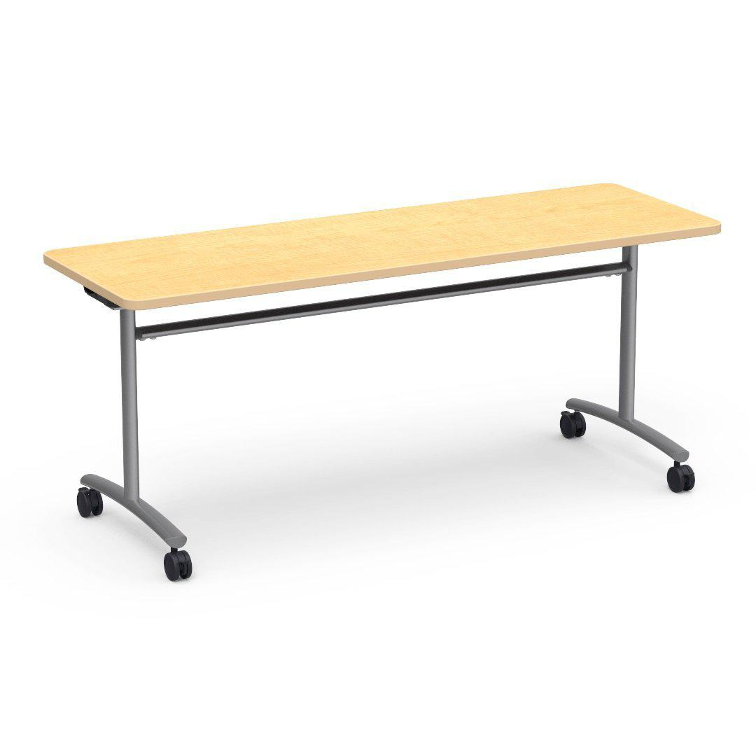"Text Series Adjustable-Height Tilt Top Tables, 30"" Deep-Tables-"