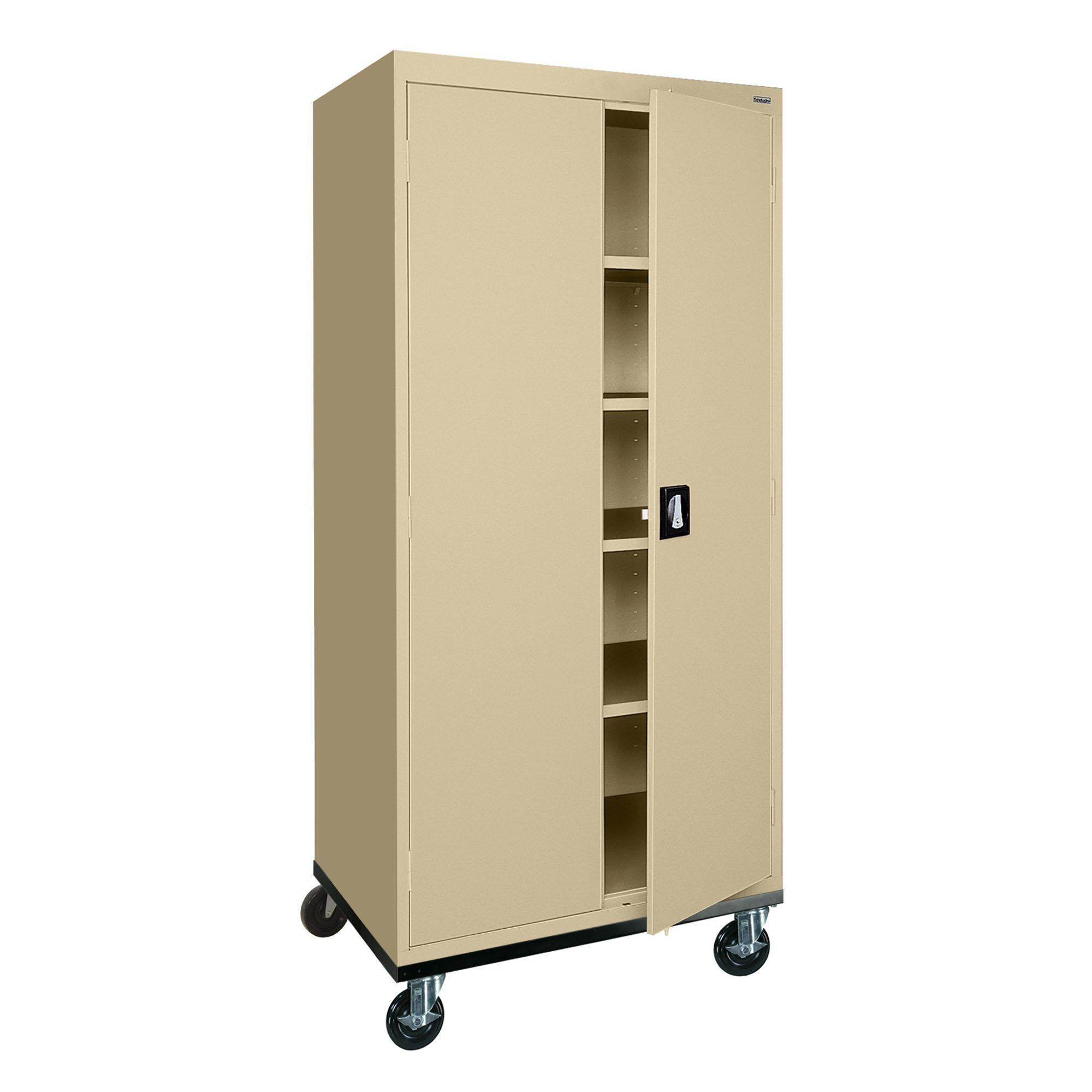 Transport Series Storage Cabinet, 30 x 24 x 66