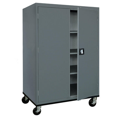 Transport Series Storage Cabinet, 46 x 24 x 60, Charcoal