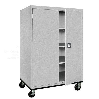 Transport Series Storage Cabinet, 46 x 24 x 60, Multi Granite