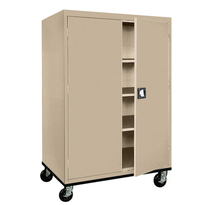 Transport Series Storage Cabinet, 46 x 24 x 60, Tropic Sand