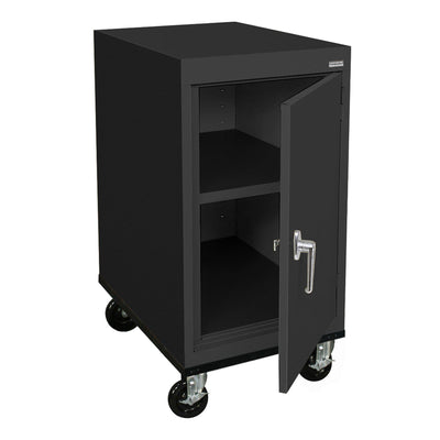 Transport Series Work Height Storage Cabinet, 18 x 24 x 30, Black