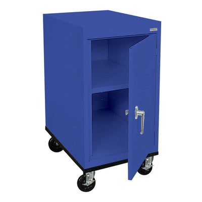 Transport Series Work Height Storage Cabinet, 18 x 24 x 30, Blue