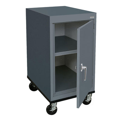 Transport Series Work Height Storage Cabinet, 18 x 24 x 30, Charcoal