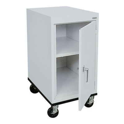 Transport Series Work Height Storage Cabinet, 18 x 24 x 30, Dove Gray