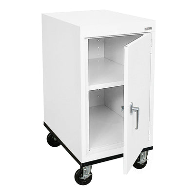 Transport Series Work Height Storage Cabinet, 18 x 24 x 30, White