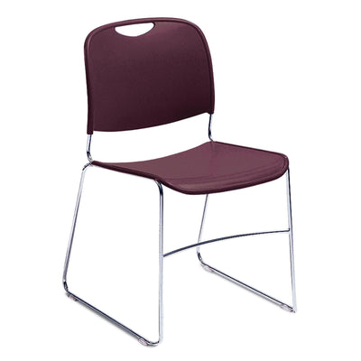 Ultra-Compact Plastic Stack Chair-Chairs-Wine-