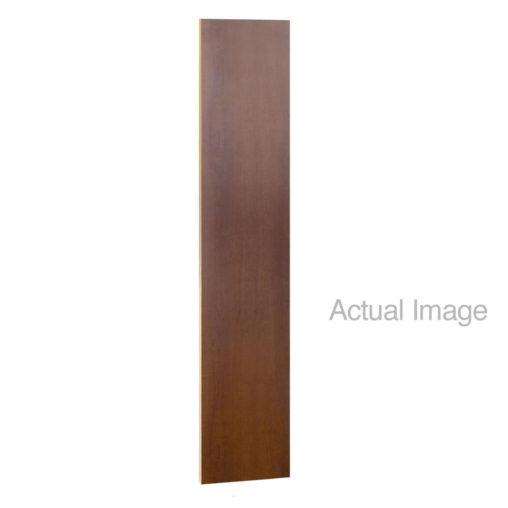 "Vertical Front Fillers for Designer Wood Lockers, 72"" High-Lockers-15""-Mahogany-"