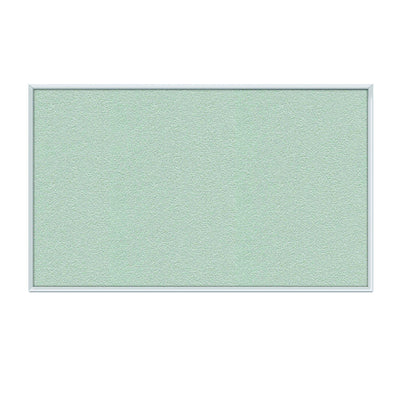 "Vinyl Bulletin Board with Satin Aluminum Frame-Boards-18""H x 24""W-Silver-"