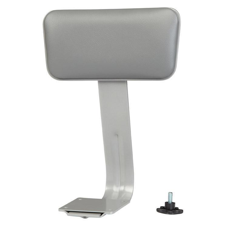Vinyl Padded Backrest for Heavy Duty Vinyl Padded Steel Stools-Stools-Grey-