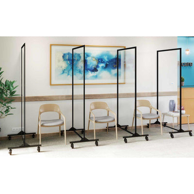 Screenflex Clear Room Divider