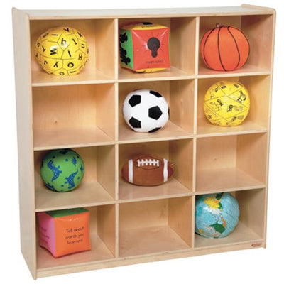 Wood Designs 12 Big Cubby Storage-Pre-School Furniture-