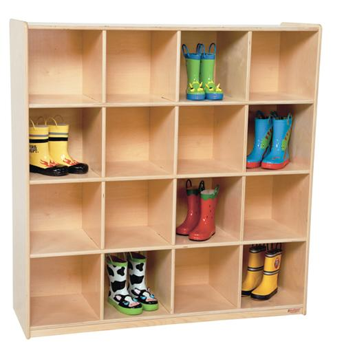 Wood Designs 16 Big Cubby Storage