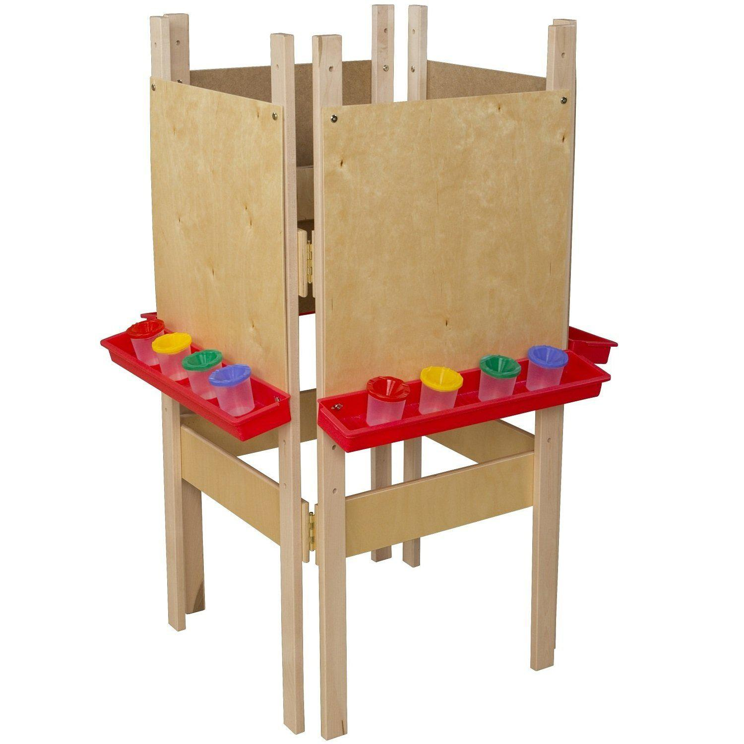 Wood Designs 4-Sided Adjustable Easel