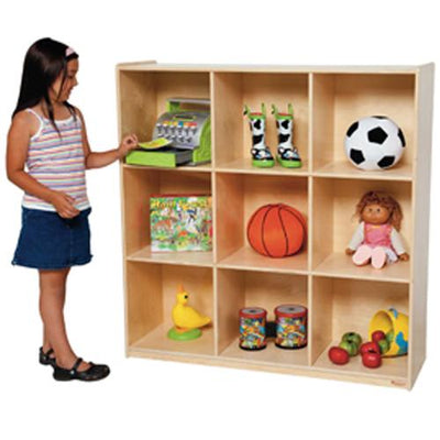 Wood Designs 9 Big Cubby Storage-Pre-School Furniture-