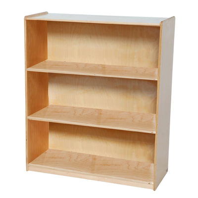 "Bookshelf with Fixed Shelves, 42-7/16""H"